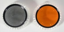 49MM FILTERS SET OF 2 ORANGE AND POLARIZER