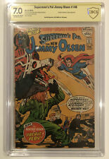 Superman's Pal Jimmy Olsen #146 CBCS 7.0 signed by JOE SIMON - not CGC not SS