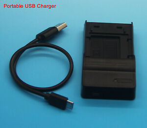 USB Battery Charger for BP-DC9 E BP-DC9U Leica V-Lux 2 V-Lux 3 BC-DC9
