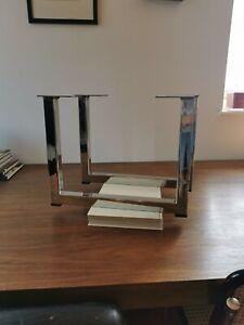 Gordon Russell Prestige Coffee / unit Table Legs chrome 1970s MCM
