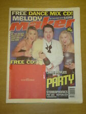 MELODY MAKER 1998 DEC 5 CHRIS MOYLES STEREOPHONICS
