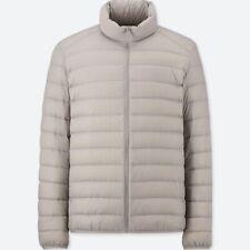 Uniqlo Men size M Medium ultra light down jacket color Gray - No reserve