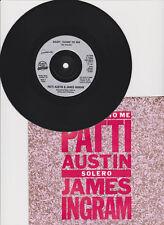 "Patti Austin & James Ingram  Baby, Come To Me  - 7"" single Qwest K15005 1981"