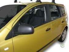 NISSAN NOTE E11 2006-2012 SET OF FRONT WIND DEFLECTORS HEKO TINTED 2pc