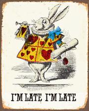 Alice in Wonderland White Art Posters