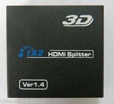 SPLITTER HDMI 1.4 ATTIVO x LA VISIONE SU 2 TV IN HD COMPATIBILE CON 3D
