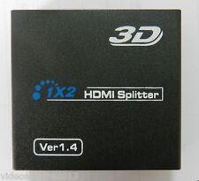 SPLITTER HDMI 1.4 ATTIVO x LA VISIONE SU 2 TV IN HD COMPATIBILE CON 3D