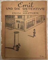"""""""Emil Und Die Detektive"""" Erich Kastner Illustrated By Walter Trier 1933 Hardback"""