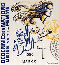 LA FEMME MOROCCO MOROCCO ENVELOPE PREMIER DAY FDC MA971