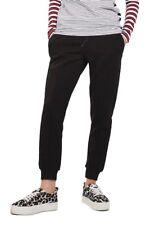 TOPSHOP Clean Seam Jogger Pants Black Size US 8