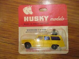 Corgi Husky - Wagonaire T.V. Car - Number 15. Original and boxed.