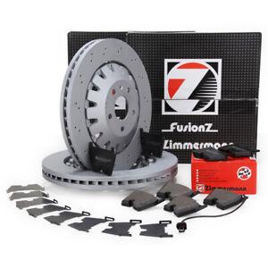 Zimmermann FORMULA Z Bremsscheiben Beläge Wako für AUDI RS3 (8V) 367/400PS vorne