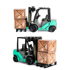Boy Kid's Toy 1:12 Scale Forklift Truck Car Model Construction Collection Gift