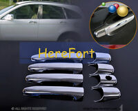 Triple Chrome Car vehicle Door Handle Covers Trim Cap for Mazda 6 2003-2008