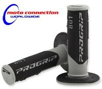 PRO GRIP 801 MX GRIPS BLACK / GREY for HONDA CRF250 CRF450 CR125 CR250