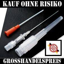 20 Sterile Piercing Nadeln, Einweg Kanülen, Piercingnadeln 14G/G14 2,0 mm/1,6 mm