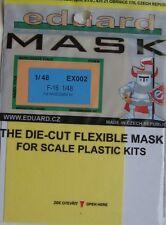 Eduard 1/48 EX002 pabellón Máscara para la Hasegawa F-16 Fighting Falcon