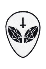 KILLSTAR EARTHLINGS PATCH UFO GRAY ALIENS FLYING SAUCER GOTHIC WITCH OCCULT EMO