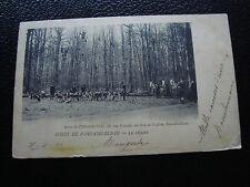 FRANCE - carte postale 1904 (foret de fontainebleau la chasse) (cy54) french