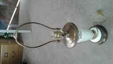 Vintage Wedgwood Electric Table lamp Blue on cream