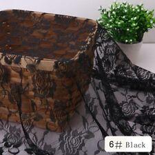 Lace fabric 50CM*150CM Rose flower Clothing/Curtain/Mosquito net/HomeTextile DIY