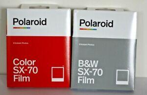 Lot de2 Film Polaroid sx-70