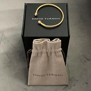 David Yurman Solari Bracelet in 18K Yellow Gold