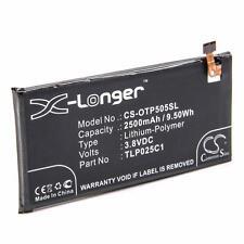 Batteria 2500mAh Li-Po per ALCATEL One Touch Pop 4 Plus, One Touch Pop 4+