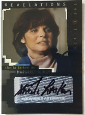 X-Files I Want To Believe Trading Card A8 Sheila Larken Margaret Scully Auto