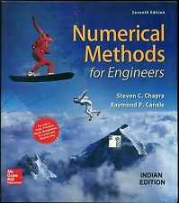 Numerical Methods for Engineers by Raymond P. Canale and Steven C. Chapra