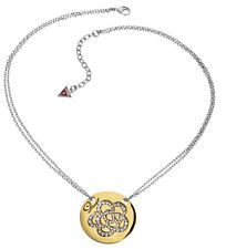 Guess Jewelry Woman Necklace Halskette Set in Stone UBN11307