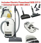 Miele Complete C3 Canister Vacuum Cleaner Special Powerhead Powerline -Brand New photo