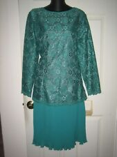 NWT  IN THE MOOD GREEN DRESS.SIZE 14
