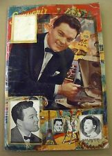 DICKIE VALENTINE SIGNED VINTAGE SCRAPBOOK 1950s POP MUSIC/ROCK N ROLL AUTOGRAPHS