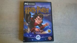 HARRY POTTER AND THE PHILOSOPHER'S STONE - PC GAME - COMPLETE WITH BOTH MANUALS
