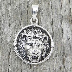 Anhänger Löwenkopf, Sterling Silber