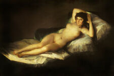 Francisco de Goya Fine Art Poster Print The Naked Maja (La Maja Desnuda)