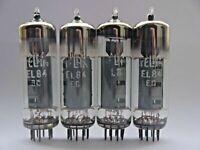 4x MATCHED QUAD 6P14P EL84 7189 6BQ5 Reflector Tubes 6П14П ЕЛ84 USSR
