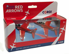 Corgi BAE Hawk RAF Red Arrows Synchro Pair - Die-cast Model Set