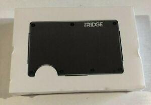 The Ridge - RFID Blocking WALLET - Aluminum - Gunmetal - NEW