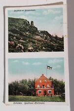 2881 AK Rothstein Gasthaus Hartmann und Bismarck-Stein Oberlausitz 1916