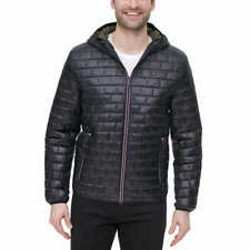 Tommy Hilfiger Mens Brick Quilted Jacket - BLACK (Select...
