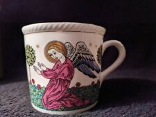 Vintage Royal Doulton The Annunciation Angels Cup Mug Church Classical Painting