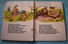 altes Papp- Bilderbuch Ringbuch Fohe Ostern Osterhase Otto Moravec 1987