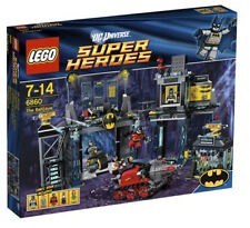 LEGO 6860 ~ Super Heroes ~ BATMAN ~ THE BATCAVE ~ Retired ~ NEW