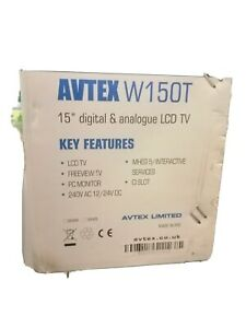"AVTEX 15"" TV  W150t 12/24v/240V Low Consumption for Caravan/Camper/motorhome"