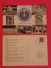 """2 x POSTKARTEN MIT SONDERSTEMPEL """" VIZEWELTMEISTER 1966 in ENGLAND """"/ FUSSBALL"""