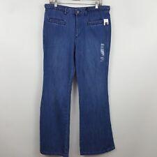 NWT Gap 1969 Original Flare Women's Blue Jeans Size 10R - 34 x 32