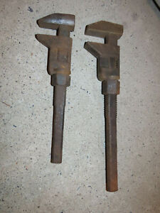 """Vintage 12"""" & 15"""" Monkey Wrench Tools"""