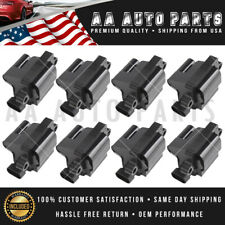 Set of 8 Ignition Coil For Chevy GMC Cadillac 5.3L 6.0L 8.1L 4.8L C1208 UF271